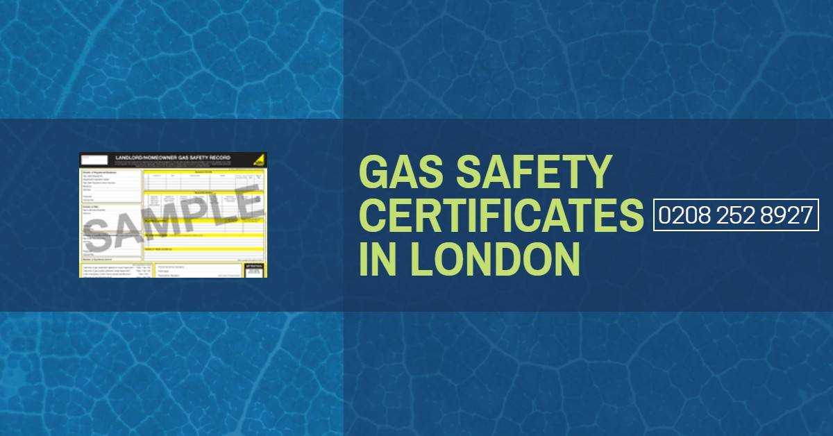 Commercial Gas Safety Certificate London - Gas Safety Inspections