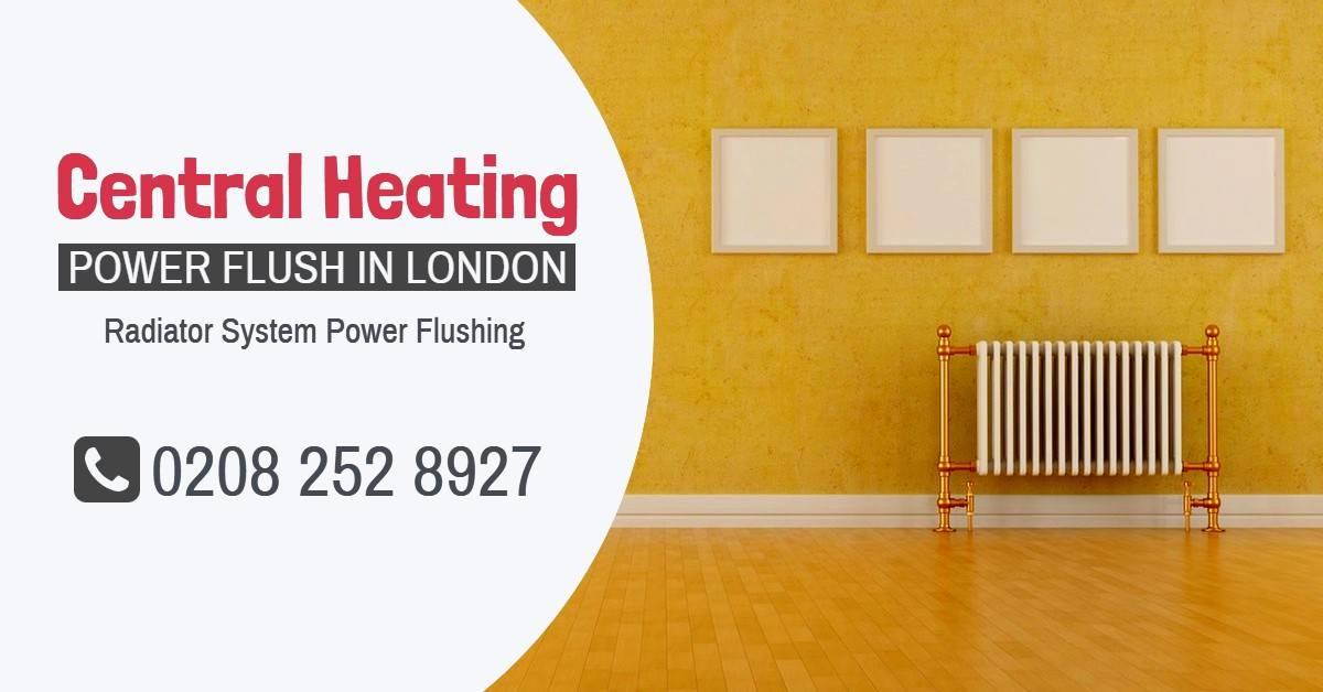 Central Heating Power Flush London