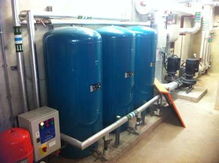 Commercial Hot Water Boiler & Cylinders - Woodford, London
