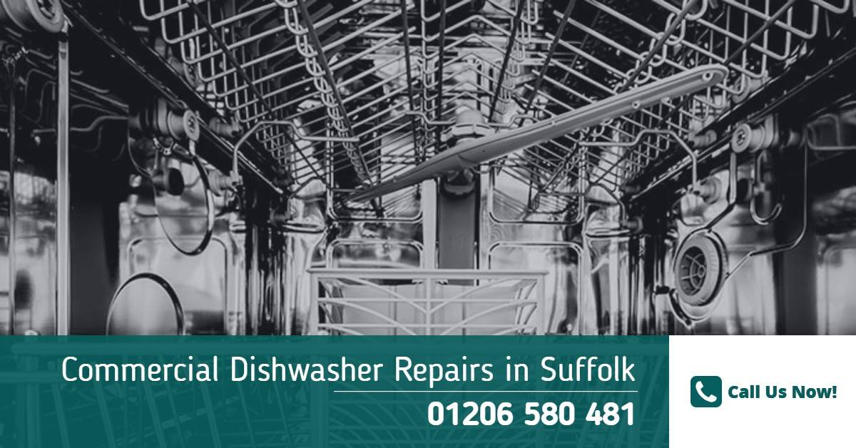 Commercial Dishwasher Repairs Suffolk - Industrial Dishwasher Engineer