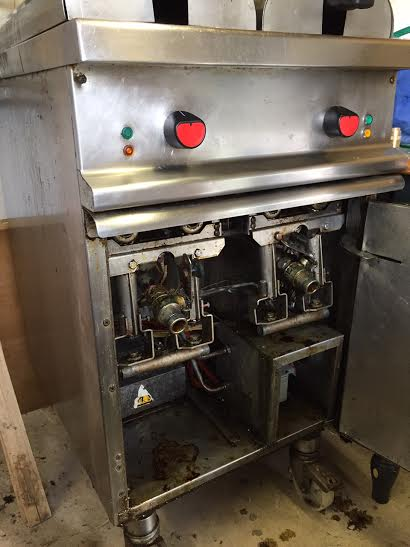 Condemned Gas Twin Fryer - Covent Garden London (WC2)