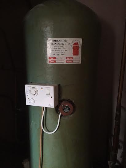Hot Water Cylinder Tank Replacement - Woodbridge, Suffolk (IP12)