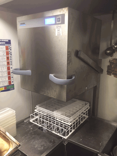 New Commercial Dishwasher Installation Tower Hill