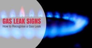 Gas Leak Signs