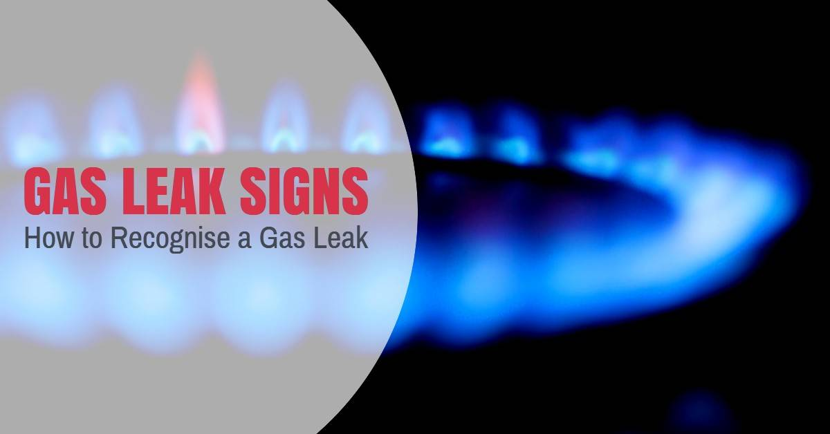 Gas Leak Signs