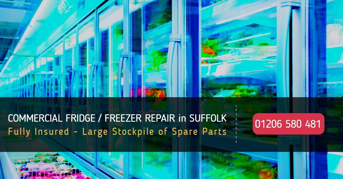 Commercial Refrigeration Repairs Suffolk - Commercial Fridge / Freezer Repair