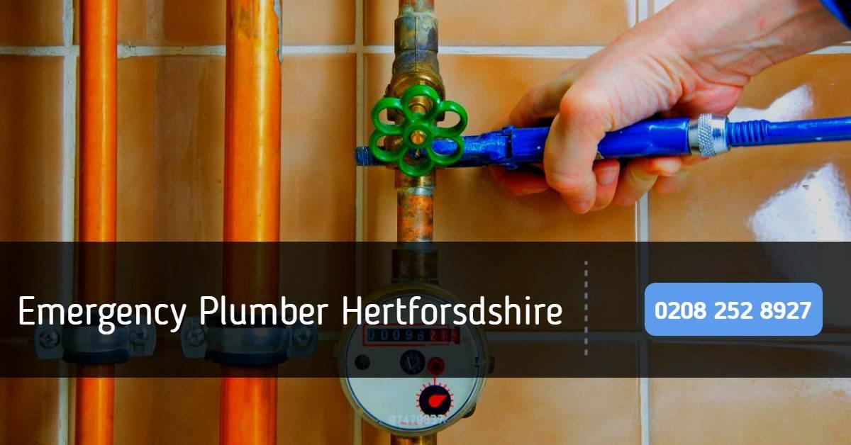 Emergency Plumber Hertforsdshire