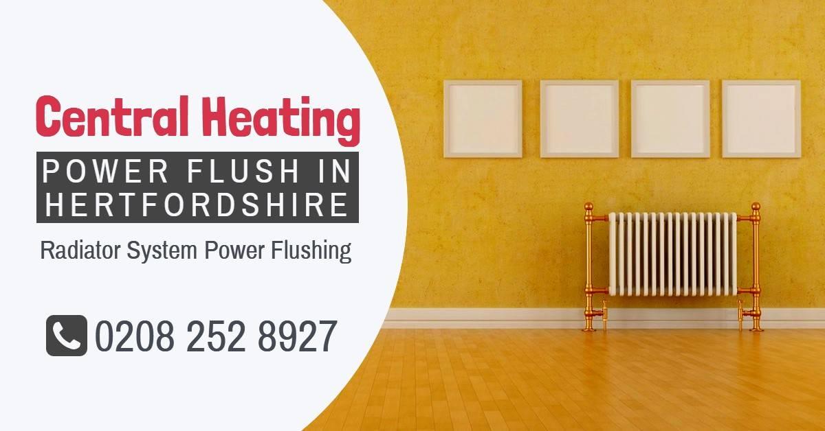 Central Heating Power Flush Hertfordshire