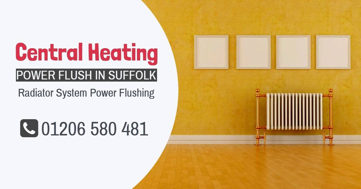 Central Heating Power Flush Suffolk