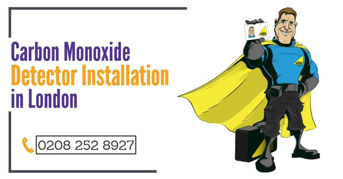 Carbon Monoxide Detector Installation London