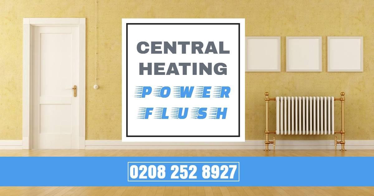 Central Heating Power Flush Kent - Radiator System Power Flushing