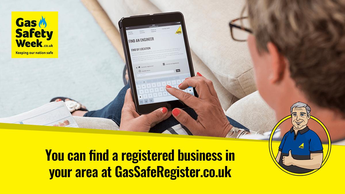 Gas Safe Register Engineers