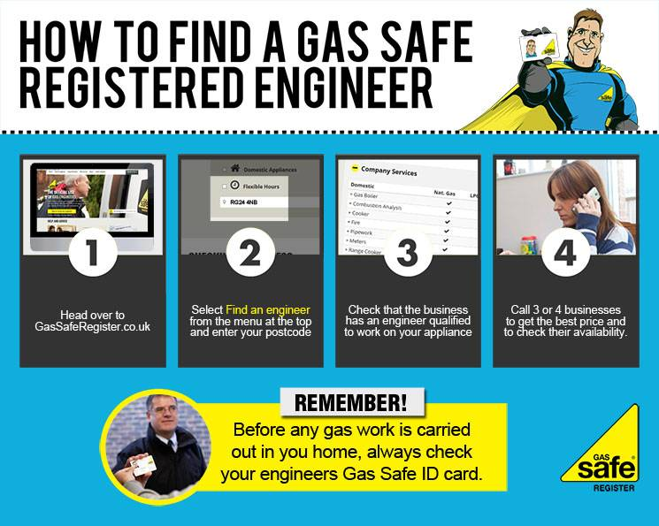 How to Find a Gas Safe Registered Engineer