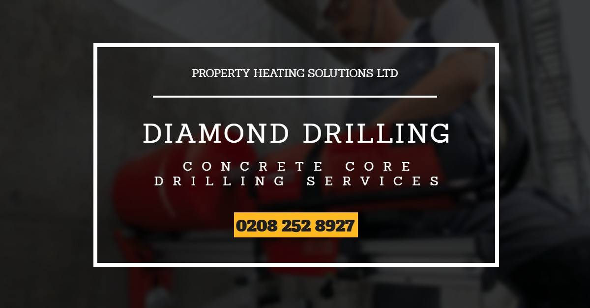 Diamond Drilling Company London - Concrete Core Drilling Cutting
