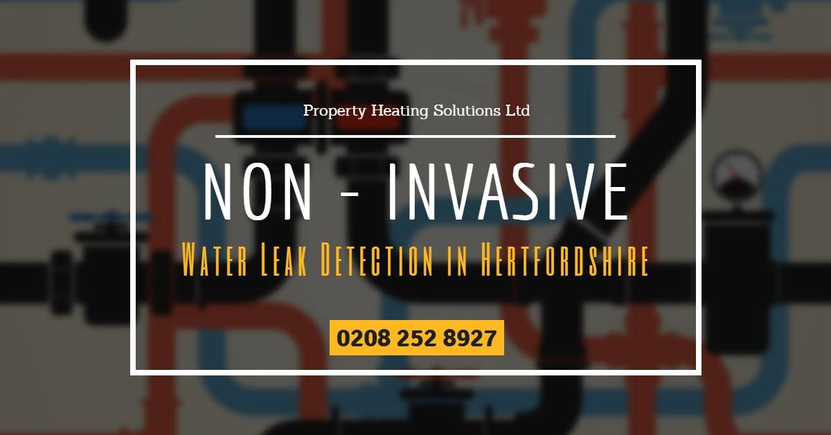 Non-Invasive Water Leak Detection in Hertfordshire