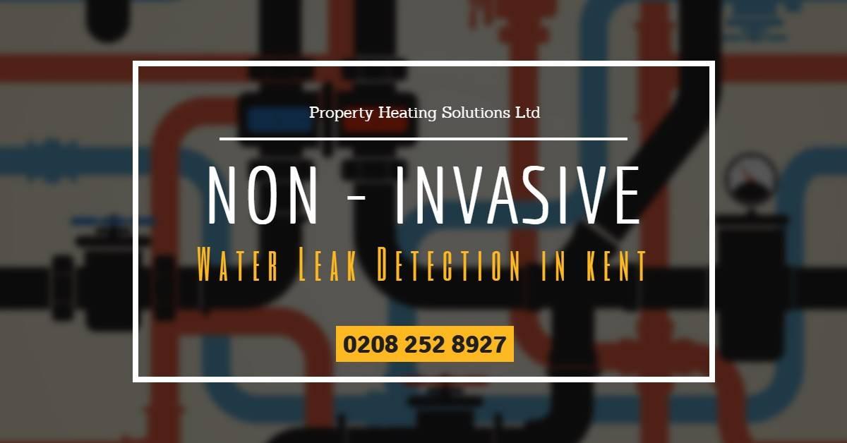 Non-Invasive Water Leak Detection in Kent