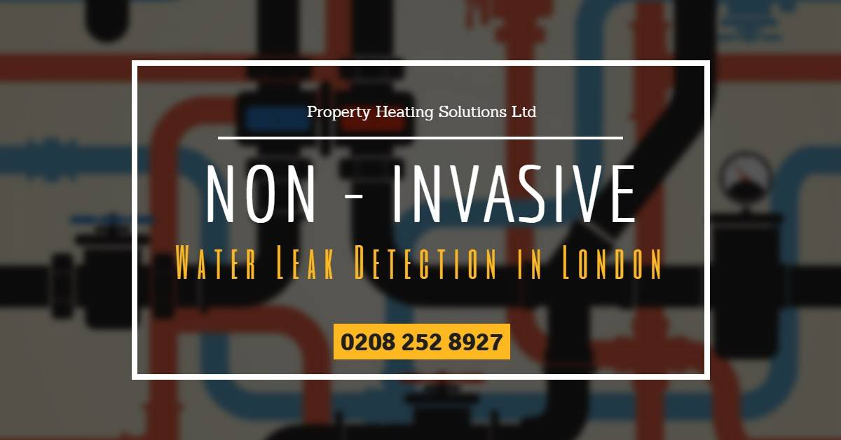 Non-Invasive Water Leak Detection in London