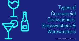 Types of Commercial Dishwashers, Glasswashers & Warewashers