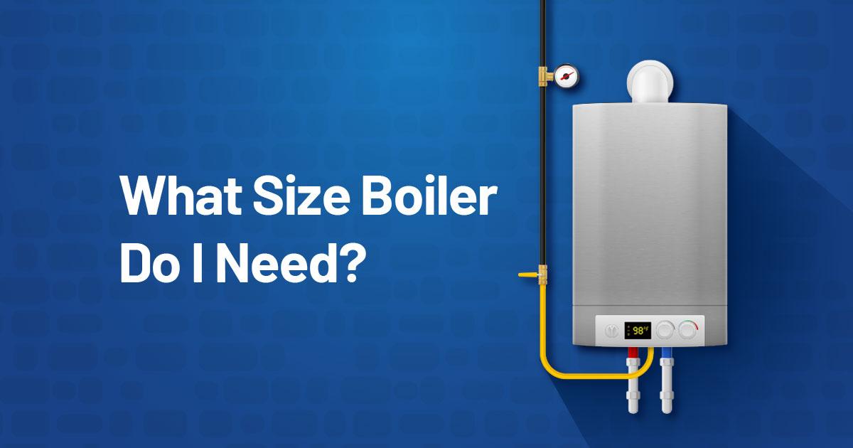 What Size Boiler Do I Need? Residential Boiler Sizing Calculator App