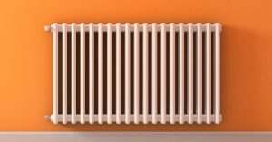 Radiator Cold at Bottom, Warm/Hot at Top